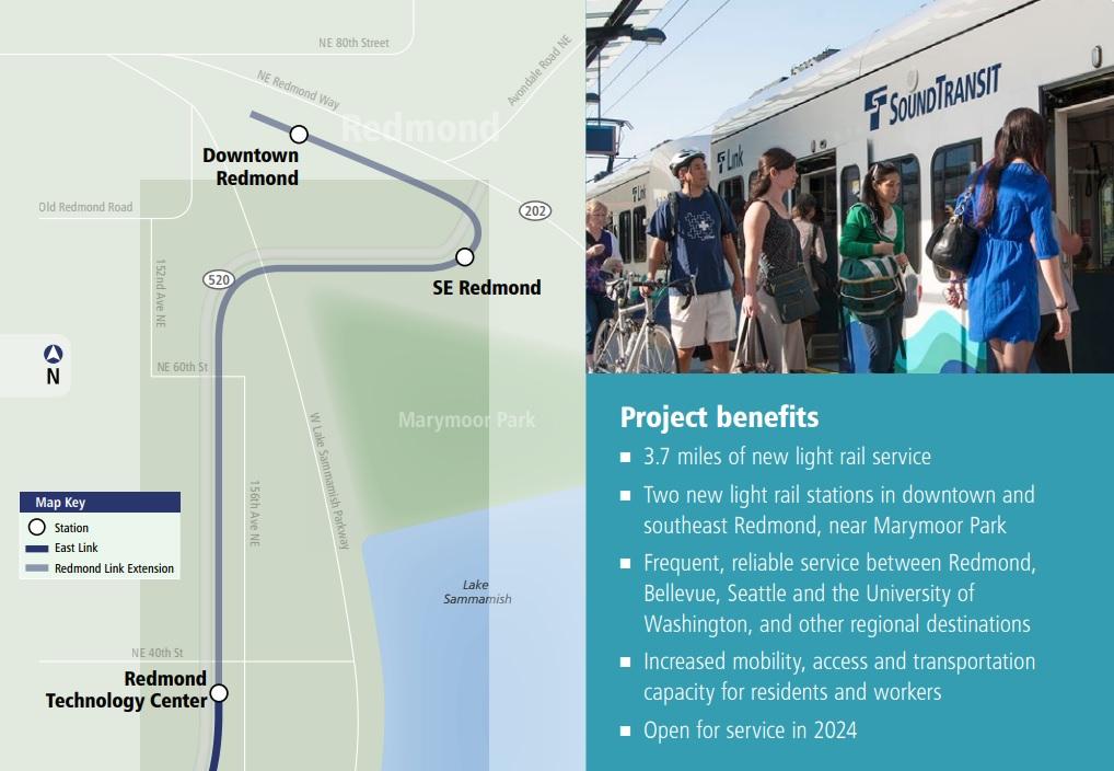 East Link Light Rail Extension | Go Redmond