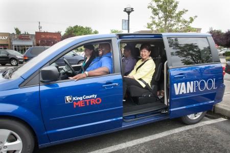 How To Find A Vanpool Go Redmond
