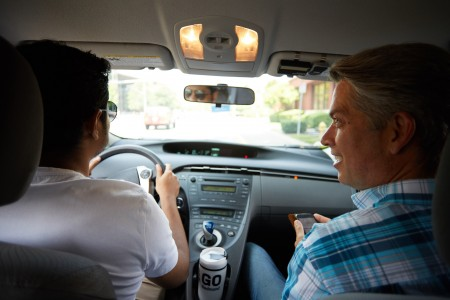 It's like Uber for carpooling